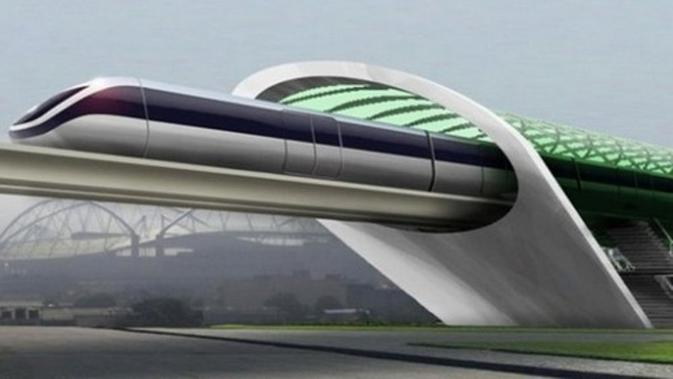 Hyperloop di Indonesia