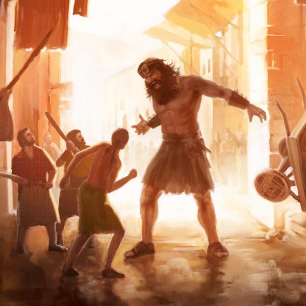Raksasa Nephillim, Musa, dan Joshua