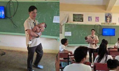 Guru Gendong Bayi di Filipina