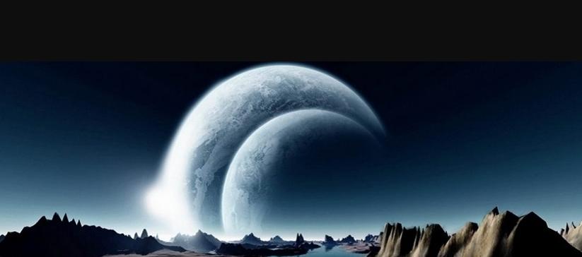 bulan kembar bersembunyi