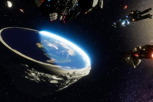 flat earth bumi datar