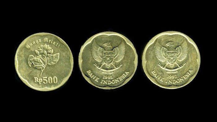 uang emas 500 rupiah