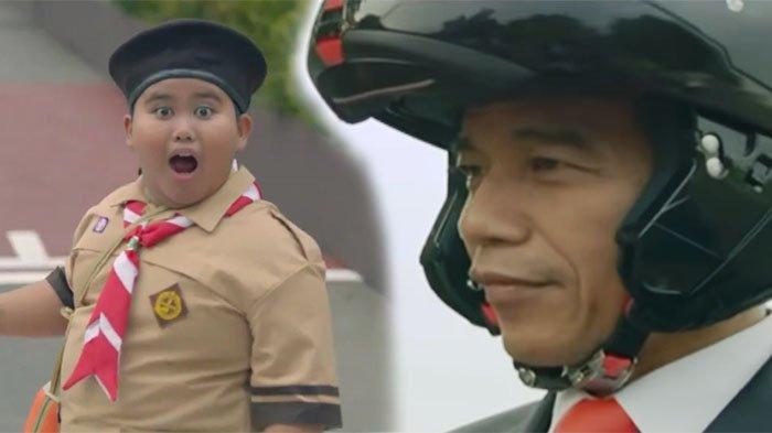 Casting Pemeran Bocah Pramuka Jokowi