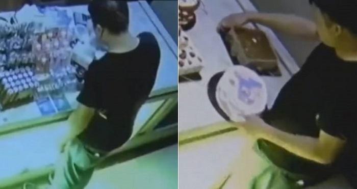 Dirampok Pencuri Kue