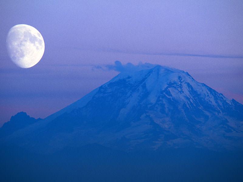 Gunung Rainer yang dikira banyak orang Gunung Fuji