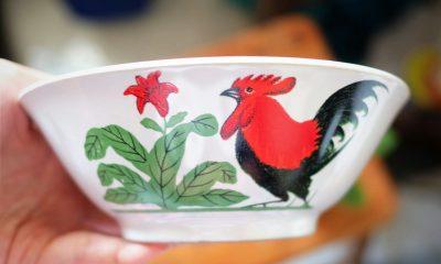 Ternyata Ada Simbol Keberuntungan di Mangkuk Bergambar Ayam Jago, Berikut Kisahnya