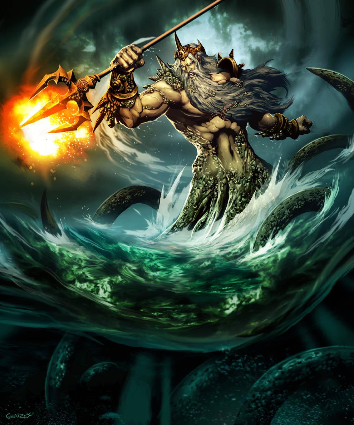 Tombak Poseidon